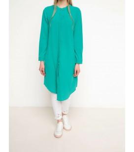 Defacto Kadın Modest Yeşil Trend Tunik G6246AZ