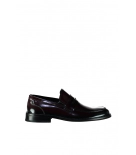 İnci Hakiki Deri Koyu Bordo Erkek Loafer Ayakkabı 6957 120130008982