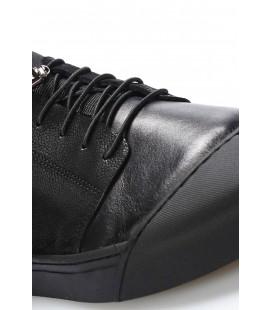 İnci Hakiki Deri Siyah Erkek Oxford Ayakkabı 6963 120130008988