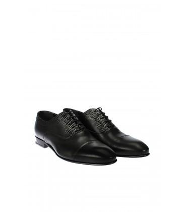 İnci Hakiki Deri Siyah Erkek Ayakkabı 5886 120130005743