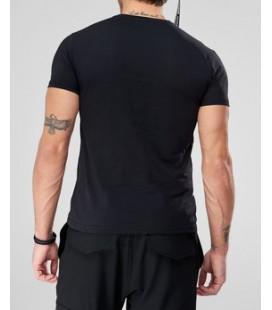 TRENDYOL MAN Siyah Erkek T-Shirt - Grafik - Baskılı TMNSS18BO0033