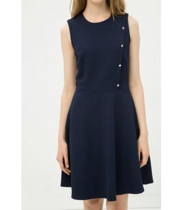 Koton Kadın Lacivert Elbise 6YAK82702UW710