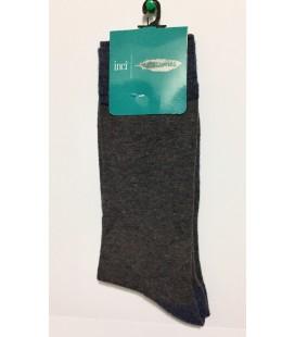 İnci Erkek Gri Çorap 5289
