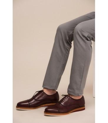 İnci Hakiki Deri Bordo Erkek Ayakkabı 1112 120120384014