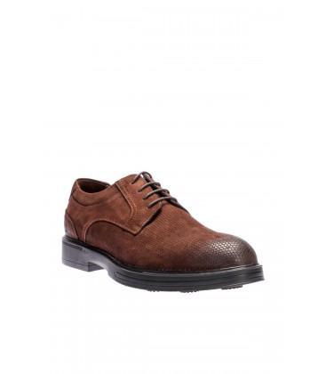 İnci Hakiki Deri Kahverengi Erkek Ayakkabı 4607 120130003182
