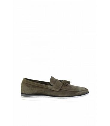 İnci Haki Erkek Loafer Ayakkabı 2142 120130003906