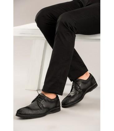 İnci Hakiki Deri Siyah Erkek Ayakkabı 2314 120130001077
