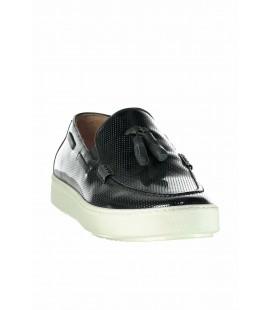 İnci Hakiki Deri Siyah Erkek Sneaker 5141 120130003693