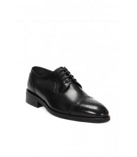 İnci Hakiki Deri Siyah Erkek Ayakkabı 6612 120130003419