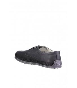 İnci Hakiki Deri Grı Erkek Oxford Ayakkabı 3715 120130007813