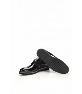 İnci Hakiki Deri Siyah Erkek Oxford Ayakkabı 6970 120130008995