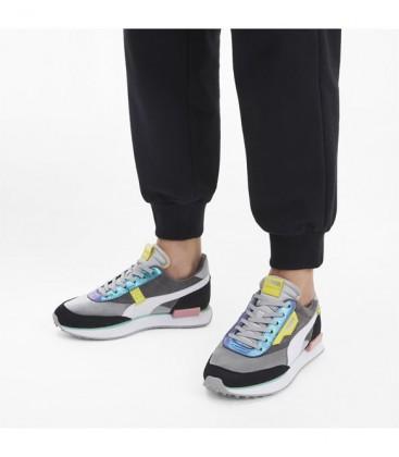 Puma Gri Kadın Günlük Ayakkabı 37289302 Rider Mix