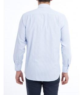 Kığılı Erkek Uzun Kol Çizgili Klasik Gömlek 9L4CEG021A9