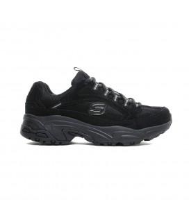 Skechers Stamina-Uplift Trail Kadın Siyah Spor Ayakkabı 13451 BBK