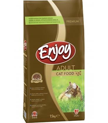 Enjoy Tavuklu Yetişkin Kedi Mamasi 15 kg