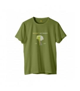 Zhoppers Switch The Nature On! Yeşil Tasarım T-Shirt