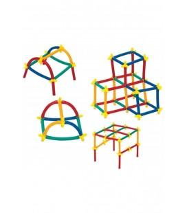 Enjoy Eğitici Eğlenceli Süper Bambu Çubuklar Tam 300 Parça A Kalite ENJ001