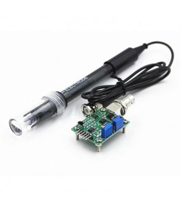PH Algılama Regülatörü Sensörü Modülü Izleme Kontrol Ölçüm Cihazı
