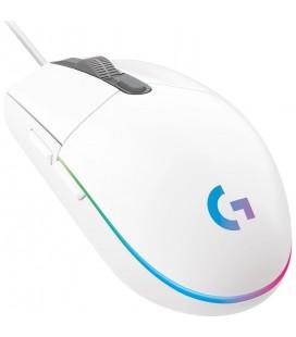 Logitech G203 Lightsync Mouse Beyaz 910-005797