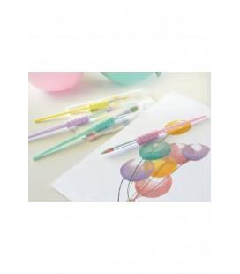 Faber Castell Soft Touch Fırça Pastel 4 Çeşit PRA-1678612-9323