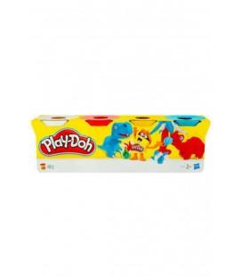 Play Doh Oyun Hamuru 4 Renk Çeşitli Renkler Iki Modelli PLY-90400