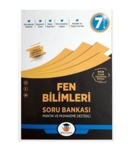 7.Sınıf Fen Bilimleri Soru Bankası Zeka Küpü Yayınları