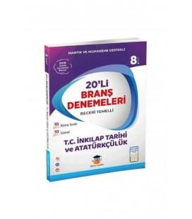 Zeka Küpü Yayınları 8.Sınıf Lgs İnkılap Tarihi 20 Deneme