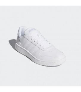 Adidas Erkek Vs Hoops 2.0 Beyaz Ayakkabı DB1085