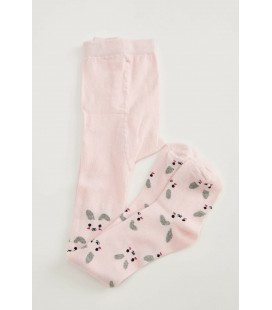 Defacto Kız Çocuk Tavşan Desenli Külotlu Çorap T9610A620AU