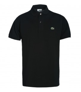 LACOSTE L1212 SIYAH KLASIK FIT PIKE POLO T-SHIRT