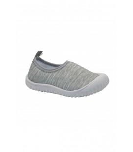 Gezer Aqua Gri Keten Yazlık Çocuk Spor Ayakkabı 03048