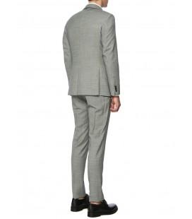 Network Erkek Slim Fit Gri Takım Elbise 1072126