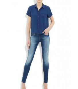 Mavi Jean Bayan Gömlek 120969-10241