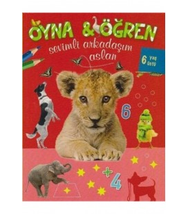 Parıltı Yayınları Oyna - Öğren Sevimli Arkadaşım Aslan - 6 Yaş Üstü