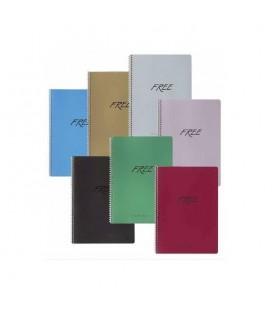 Keskin Color 320321-99 A4 80 Yaprak Çizgili PP Kapak Free