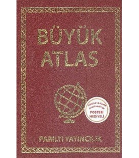 Parıltı Yayıncılık Büyük Atlas Ciltli
