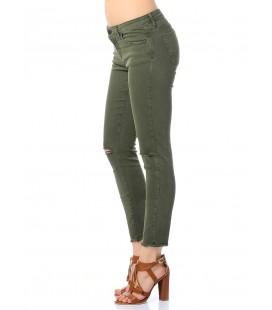 Mavi Jeans Bayan Pantolon Koyu Yeşil 5 Cep 100321-20850
