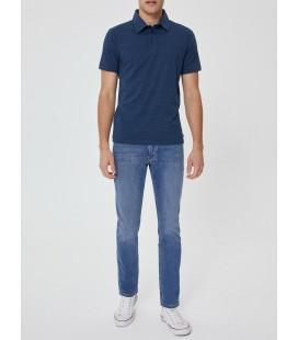 Lee Cooper Erkek Lacivert Polo Yaka T-shirt 199 LCM 242020
