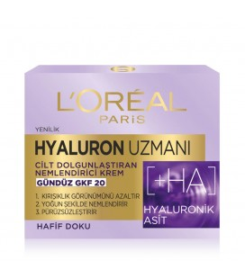 L'Oréal Paris Hyaluron Uzmanı Nemlendirici Gündüz Kremi 50ml
