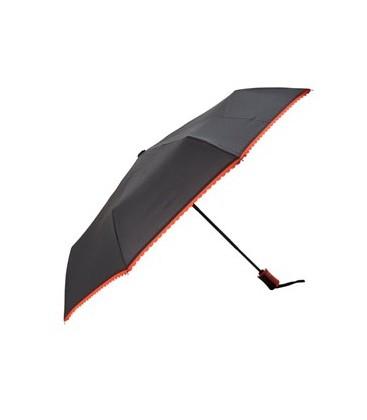 Pıerre Cardın Pc213 Otomatik Katlanır Kısa Şemsiye Siyah
