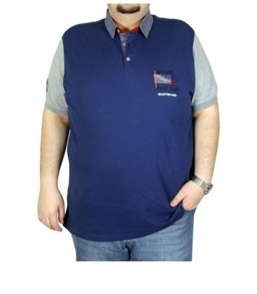 Modexl Büyük Beden Erkek T-shirt Polo Swat Club 19419