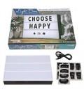 """Choose Happy 11.75""""x8.75"""" Linht Box Led Lights"""