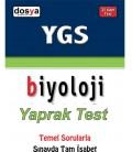 YGS Biyoloji Yaprak Test Dosya Yayınları