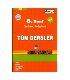 8. Sınıf Tüm Dersler Soru Bankası Dosya Yayınları