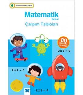 Öğrenmeyi Seviyorum - Matematik İlkokul Çarpım Tabloları