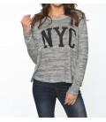 Koton Kadın Grey Sweatshirt 6KAL11653OK