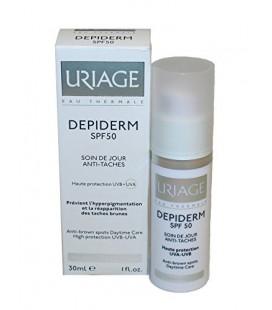 Uriage Depiderm SPF50 Anti-Brown Spots Daytime Care 30 ML - Leke Önlemeye Yardımcı Günlük Bakım Kremi