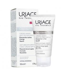 Uriage Depiderm Anti-Brown Spot Hand Cream SPF15 50 ML - Depiderm Leke Karşıtı El Kremi