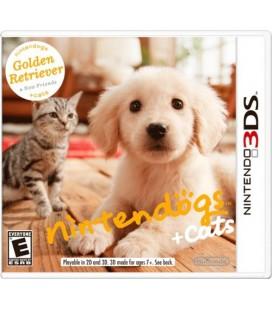 Nintendogs + Cats Nintendo 3DS Orjinal 3D Oyun