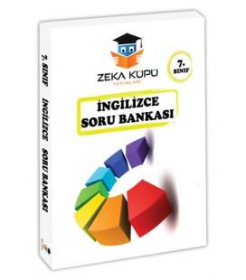 7. Sınıf İngilizce Soru Bankası Zeka Küpü Yayınları